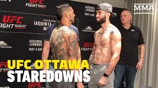 UFC Ottawa Weigh-In Staredowns - MMA Fighting