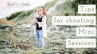 Tips For Photographing Mini Sessions | How To Get Photography Clients?