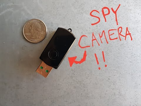Spy Camera Disguised As Tiny USB Stick!