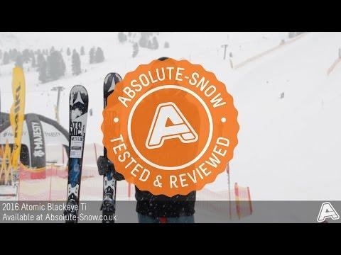 2015 / 2016 | Atomic Blackeye Ti Ski | Video Review