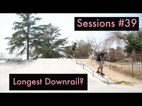 Sessions #39| Shafter & Wasco Skatepark