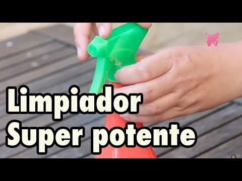 Limpiador multiusos casero superpotente - Triple A