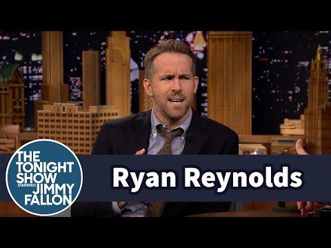 Ryan Reynolds' Baby Calls Him Mama (видео)