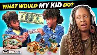 Parents Try Guessing What Their Kid Will Do With $100 | What Would My Kid Do?