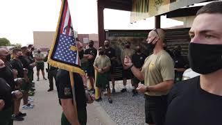 Border Patrol Academy Class 1141's Patch Run