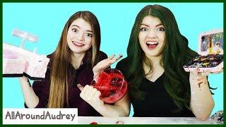 Sis Vs Sis Craft Challenge DiY Edible Jewelry And Makeup / AllAroundAudrey