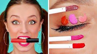 好笑 的DIY 化妝小撇步與小提示 || 又酷又簡單的女孩點子 由 123 GO! 製作