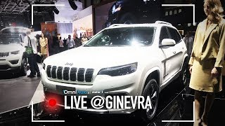 Jeep Cherokee restyling   Salone di Ginevra 2018