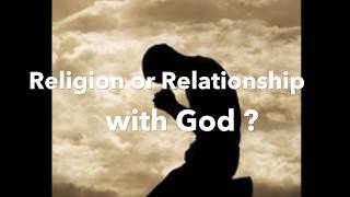 """Religion or relationship with God ?"" - Pastor Bong Bugarin"