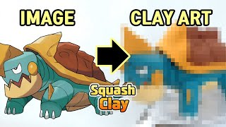 Drednaw  - (Pokémon) - Pokémon Sword & Shield Clay Art: Drednaw Water/Rock Pokémon!! Satisfying video