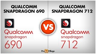 Qualcomm Snapdragon 690 vs Snapdragon 712 | whats different? 🤔🤔| Snapdragon 712 vs Snapdragon 690🔥🔥