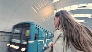 ВЛОГ Московское метро... Впервые за долгое время... 10.11.2017