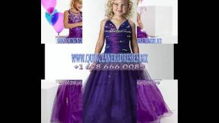 Purple Brand New Little Girl Pageant Dress.99