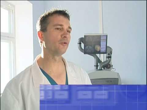 Laser Physiotherapie im Hüftgelenk