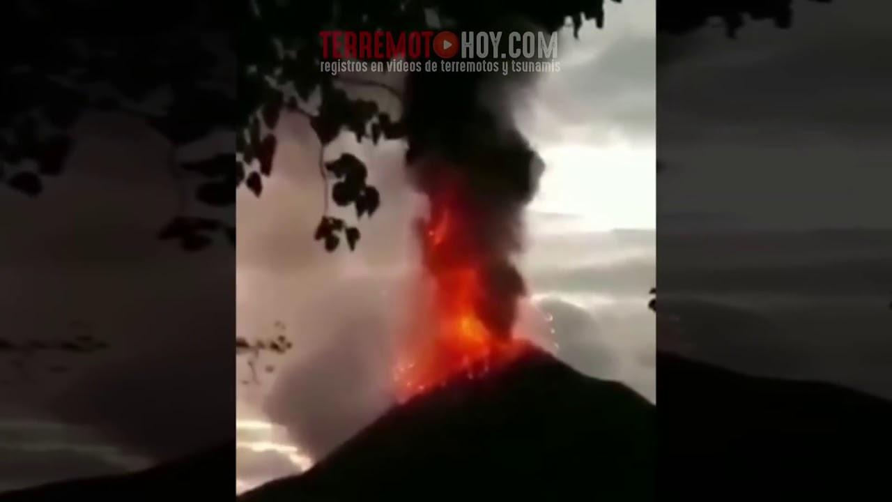 Video: la desesperación por escapar del tsunami en Indonesia