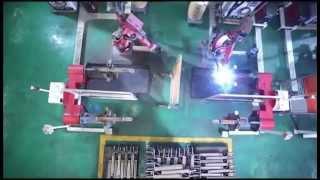 ПОДЪЕМНИК двухстоечный электрогидравлический, 380В, г/п 5т NORDBERG N4122A-5T от компании AVTO-PLAN - видео