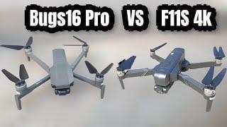 So Sánh F11S 4k vs Bugs 16 Pro - nên mua Flycam nào ? KimGuNi