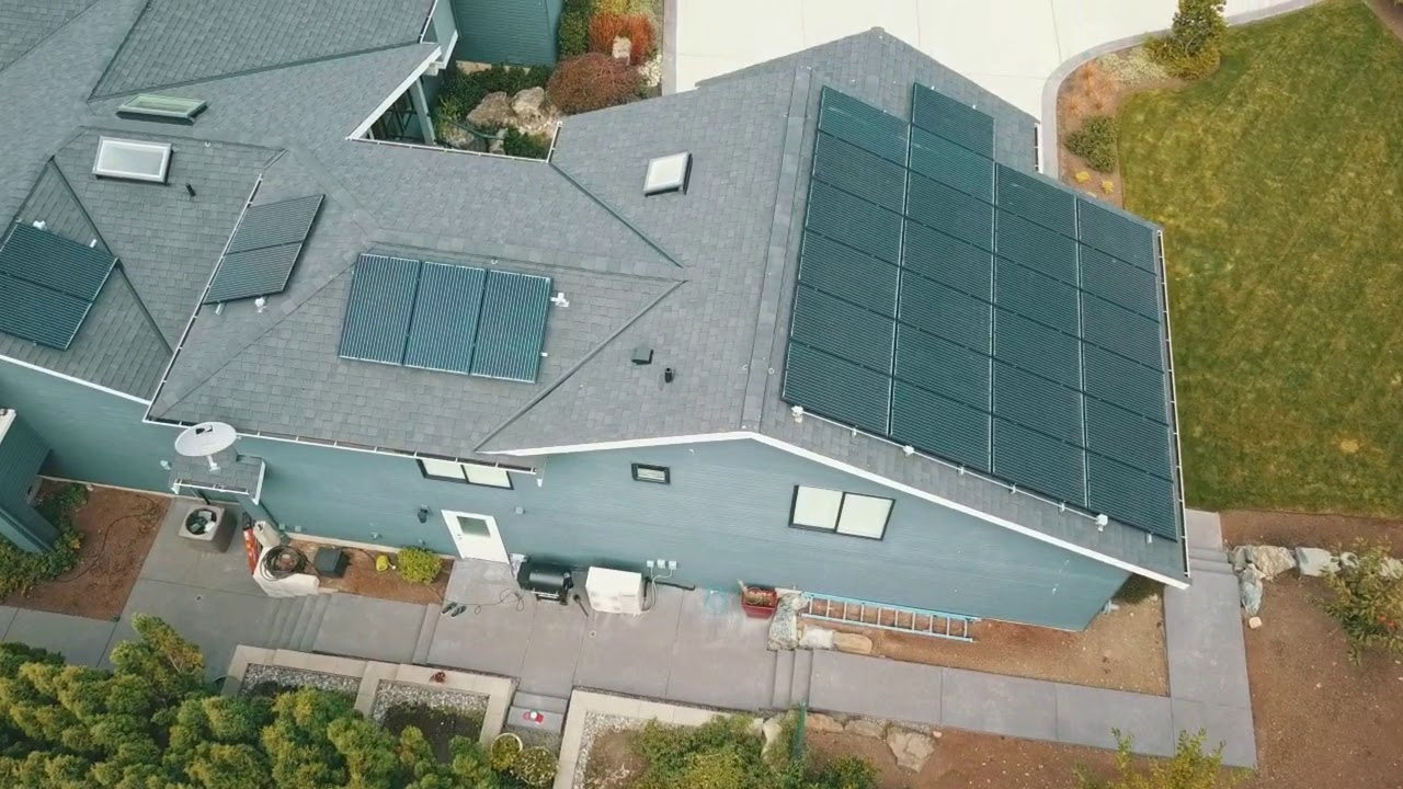Roof & Solar Project in Clyde Hill, WA by Pinnacle Roofing Professionals, LLC