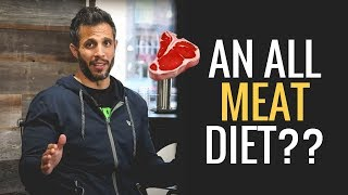 The Carnivore Diet: Is Eating ONLY Meat Healthy or Totally F%#*ing Crazy??  (QUAH #15) | MIND PUMP