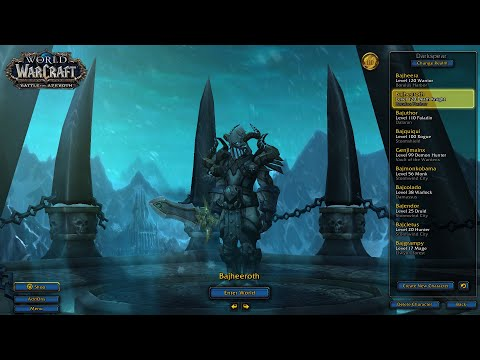 Bajheera - BFA 8 0 Addons Update & Custom UI Settings - WoW: Battle