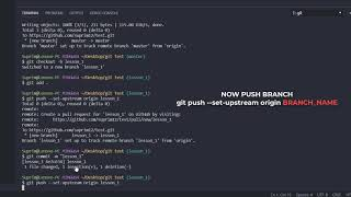 How to update github branch from master