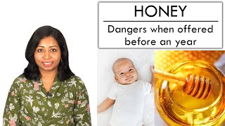 Can I give my baby Honey? 🍯- Dangers when offered before a year