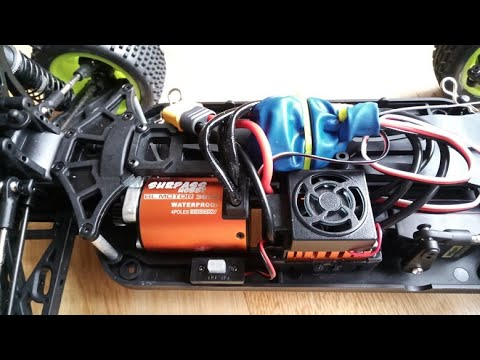 Surpass Hobby Waterproof 3650 3900KV Brushless RC Car Motor With 60A ESC from Banggood