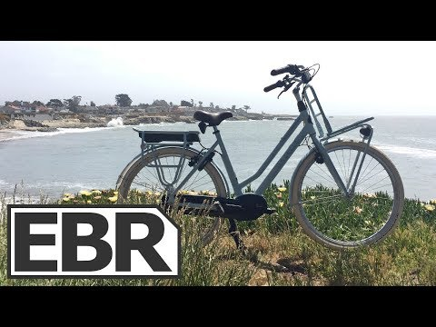 Gazelle NL C8 HMB Video Review – $3k Utility Cruiser Electric Bike, Bosch Performance Line Mid-Drive