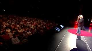 preview picture of video 'Sword Swallower Dan Meyer: TEDxMaastricht: Doing the Impossible, Cutting Through Fear'
