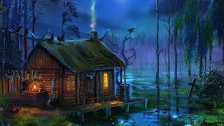 Swamp Sounds at Night - Frogs, Crickets, Sleep & Relaxation Nature Sounds, Cozy Cabin Ambience Sleep