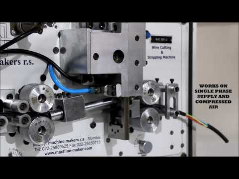 Automatic Wire Cutting and Stripping Machine for multicore & battery cables - Rae-Ser 2