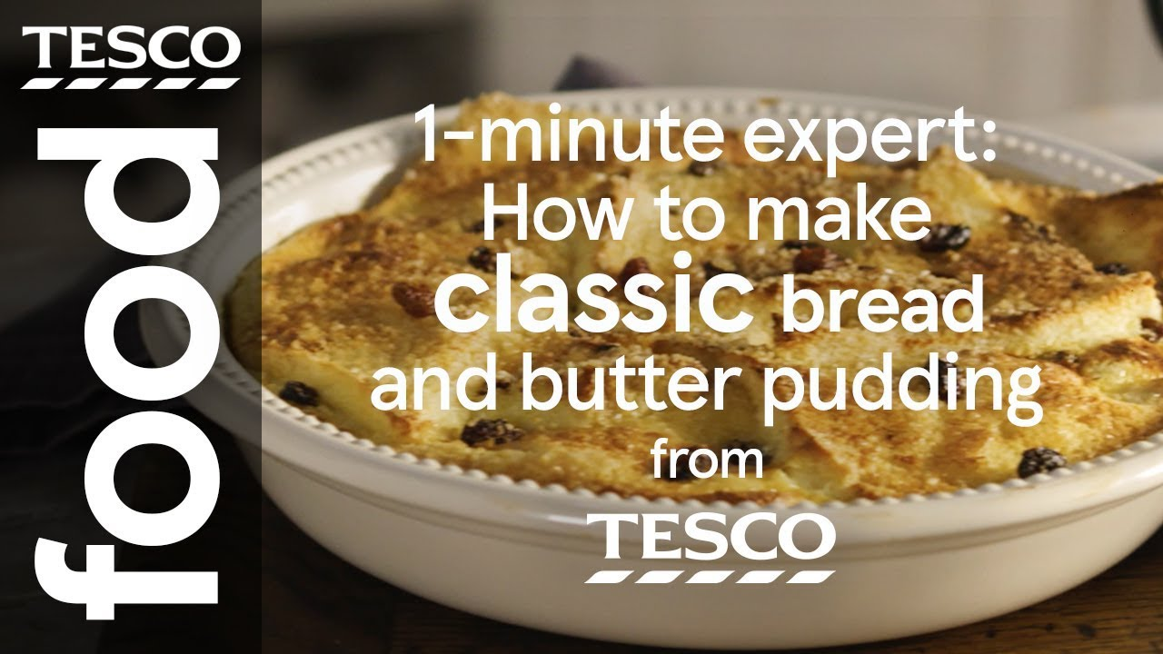 How to make bread and butter pudding