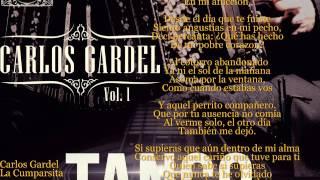 Carlos Gardel - La Cumparsita (Letra)