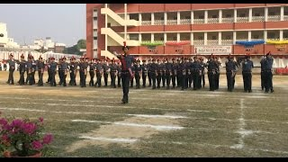 preview picture of video 'St  Francis College Annual Athletic Meet, Nov 21, 2014 - Prosenjeet Dasgupta'