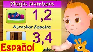 Uno Dos Abrochar Zapatos (One Two Buckle My Shoe) | Canciones Infantiles En Español | ChuChu TV