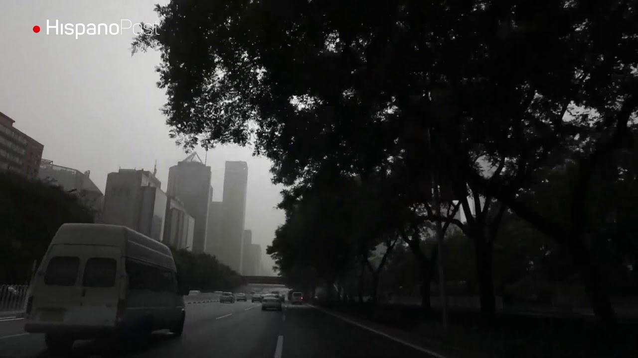 Pekín logra objetivo de reducir un 20,5 % la contaminación del aire en 2017