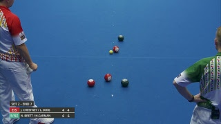Just. 2019 World Indoor Bowls Championships: Day 10 Session 2