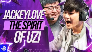How JackeyLove Became the Heir to Uzi's Throne