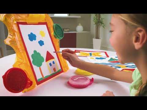 Laste maalimiskomplekt Beluga Paint-Station, 5 tk