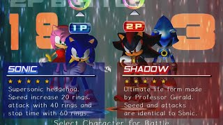 SGB Play: Sonic Adventure 2: Battle (Multiplayer) - Part 1