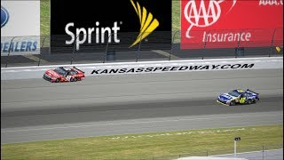 "Can I Recreate Carl Edwards' 2008 Kansas ""Video Game Move""? 