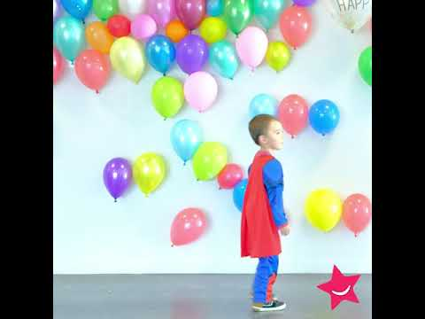 Superman™ Kostüm für Kinder
