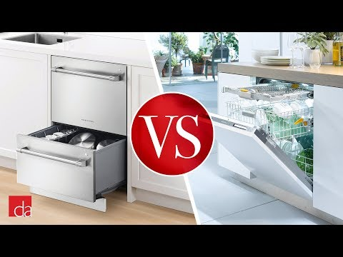 Dishwasher Drawer vs Standard Dishwasher [REVIEW]
