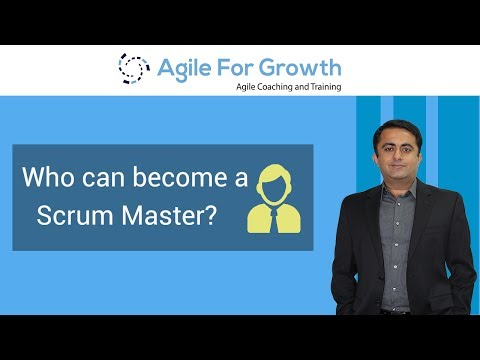 Who can become a Scrum Master? -By Kamlesh Ravlani - YouTube