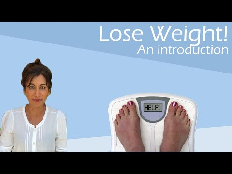 How to lose weight - An introduction.