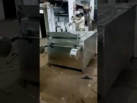 Kurkure Rectangle Fryer Machine