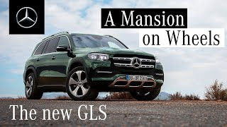 YouTube Video u3V_77rpK-k for Product Mercedes-Benz GLS-Class SUV (3rd gen, X167) by Company Mercedes-Benz in Industry Cars