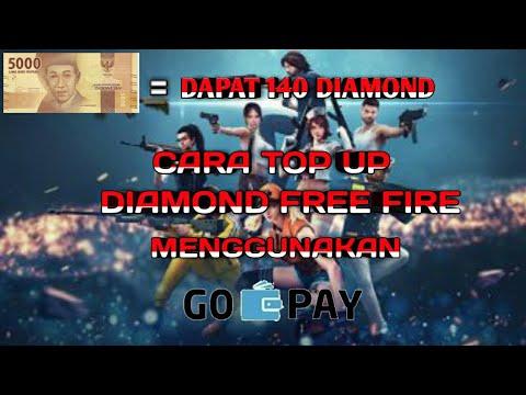 CARA TOP UP DIAMOND FREE FIRE MURAH DENGAN GOPAY DISKON 75%