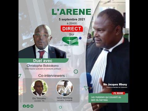 Replay de L'ARENE du 05/09/2021, Invité: Me Jacques Mbuny, avocat au barreau du Cameroun