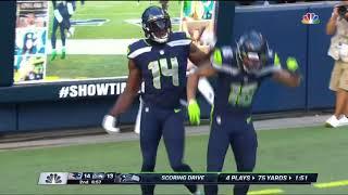 DK Metcalf 54 Yard Touchdown   Pats vs. Seahawks   NFL Week 2